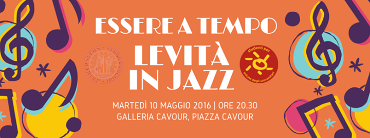 Cover image for EME event 'ESSERE A TEMPO - Levità in jazz'